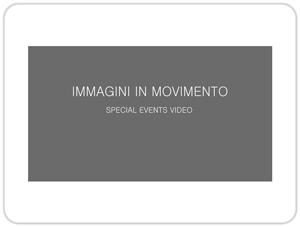 Immagini in movimento